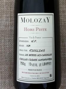 Vin de Moselle,  Riesling HP, Château de Vaux